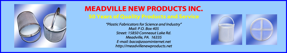 header meadville new products with address